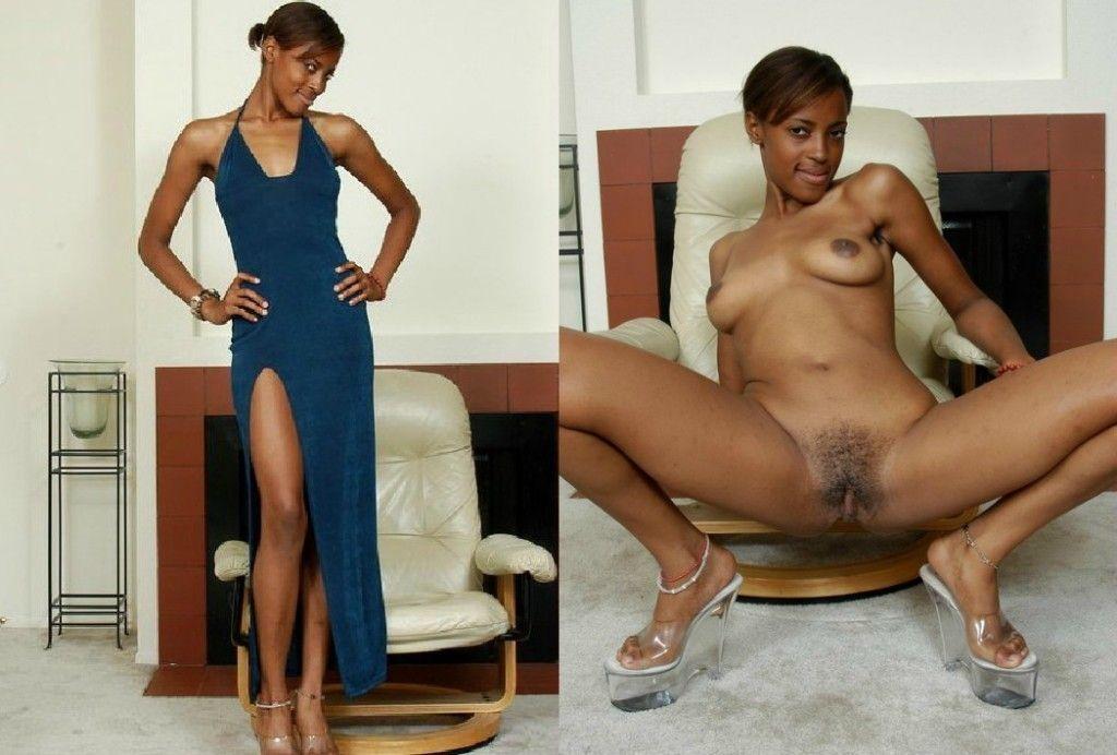 Opinion Nude black ebony babes undressing