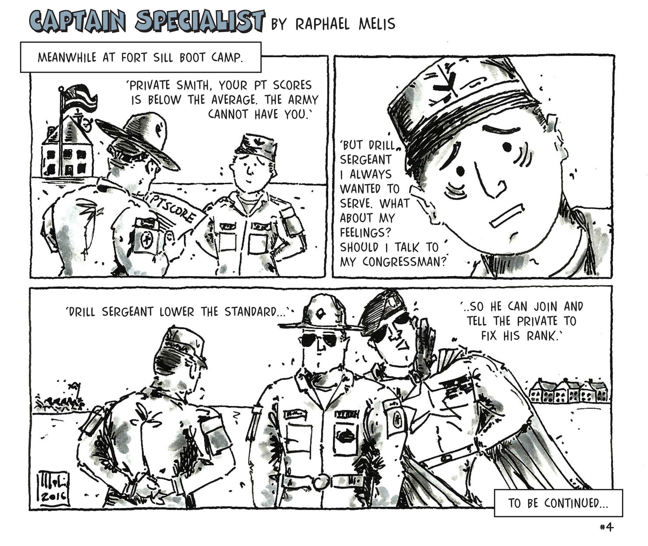 Helmet reccomend Army comic strip