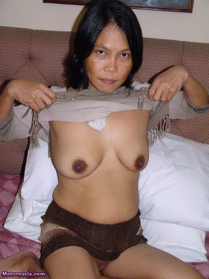 Busty asian granny