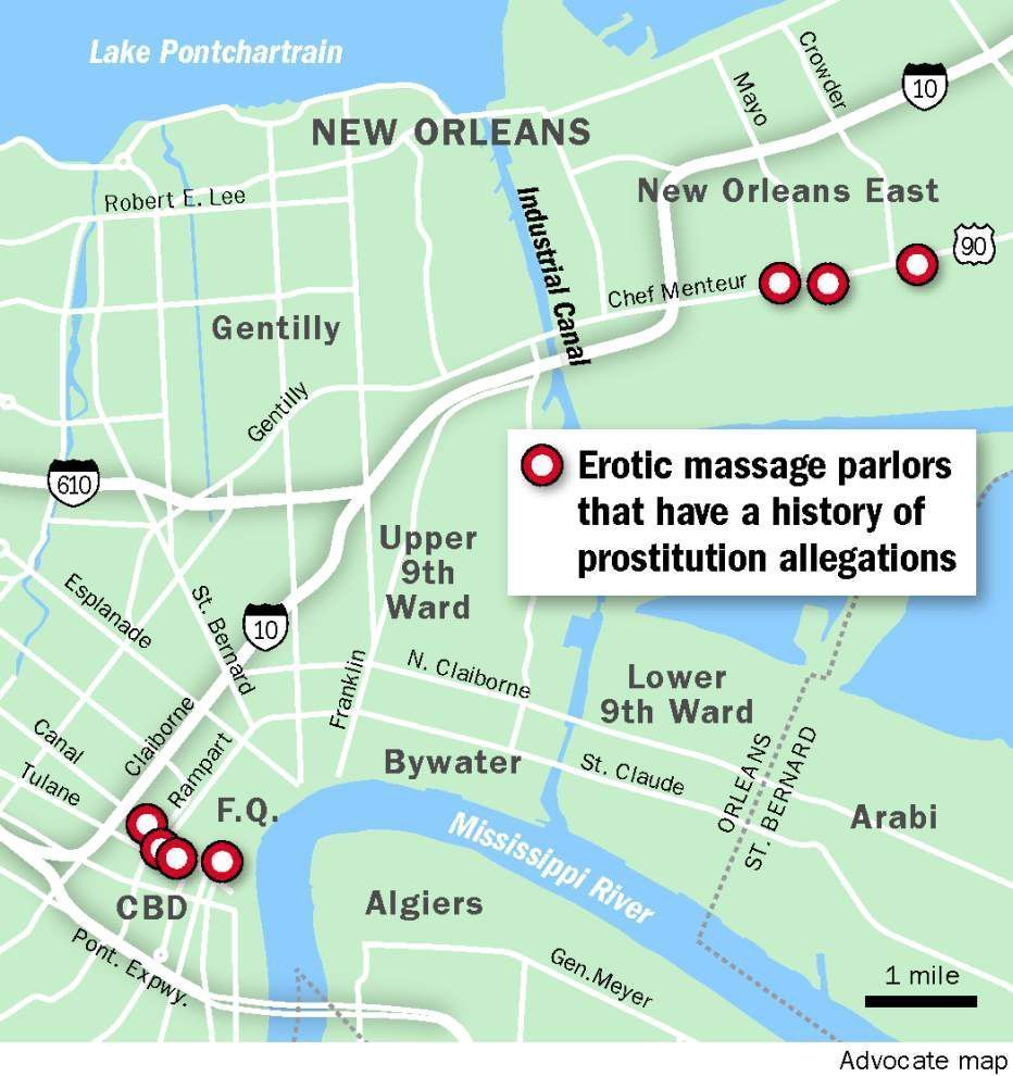 Mastodon reccomend Asian massage parlors in new orleans