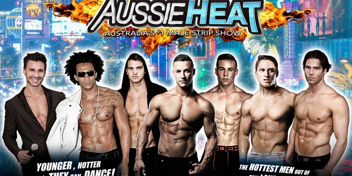 Australian men stripper shows