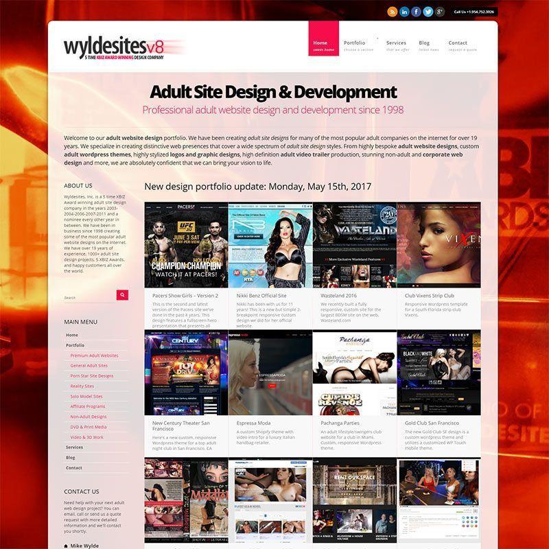 Adult web site spank