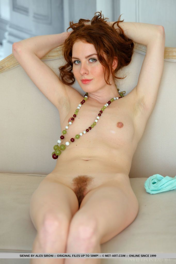 With you Hairy naked redhead women