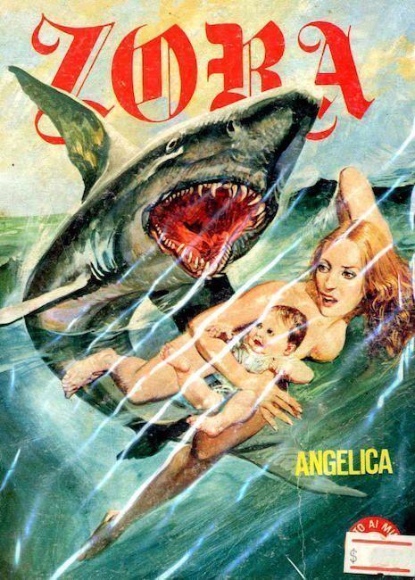Movie shark dildo goes