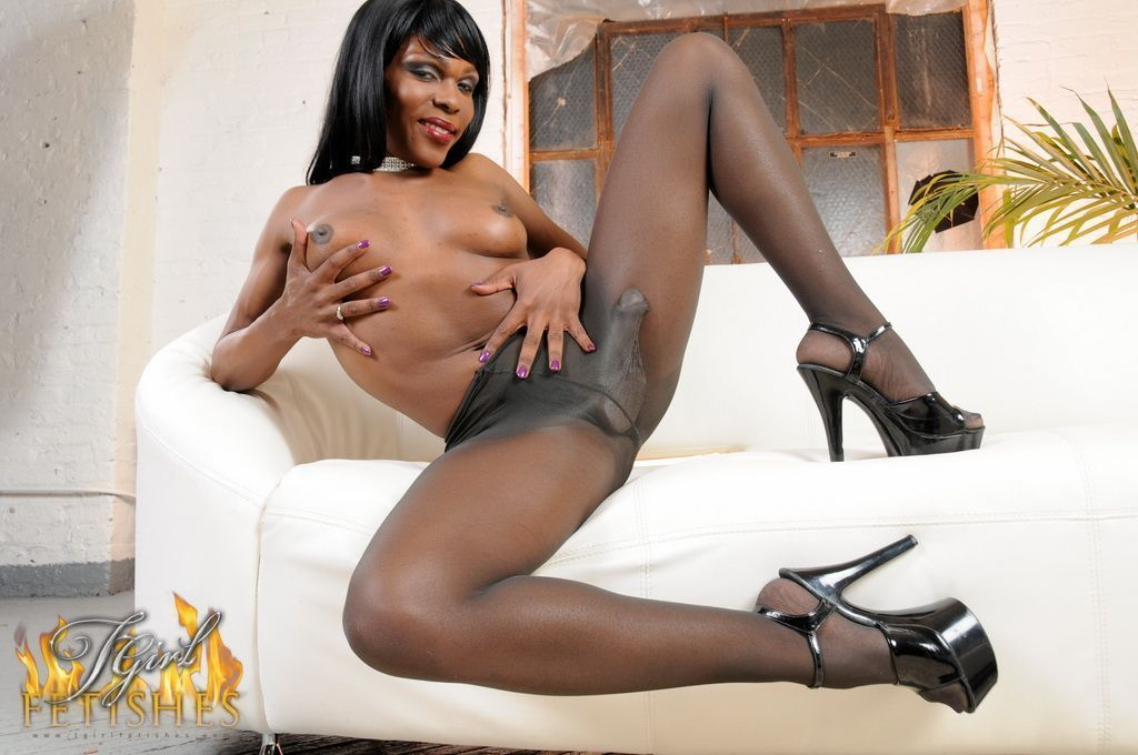 Best of Lesbian Shemale Stockings