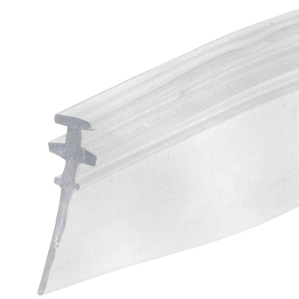 Bottom seal for shower doors