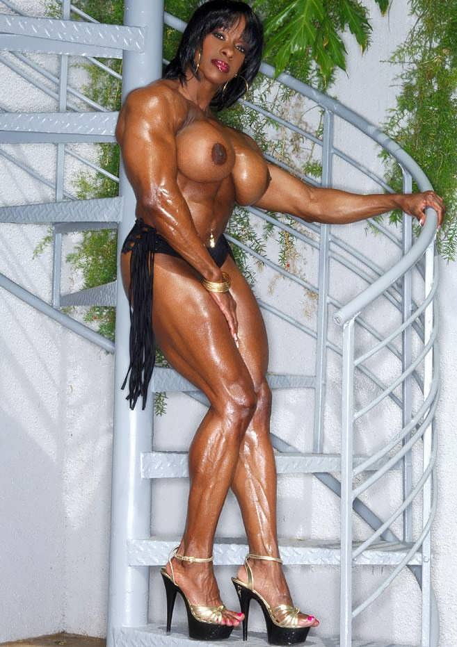 Charming sexy naked muscle women tubes amusing