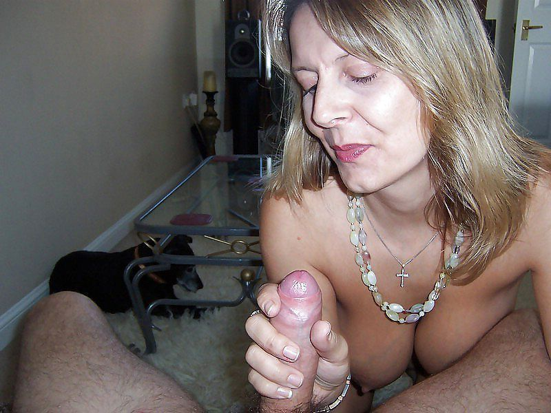 Mistake sucking some wife mature does point