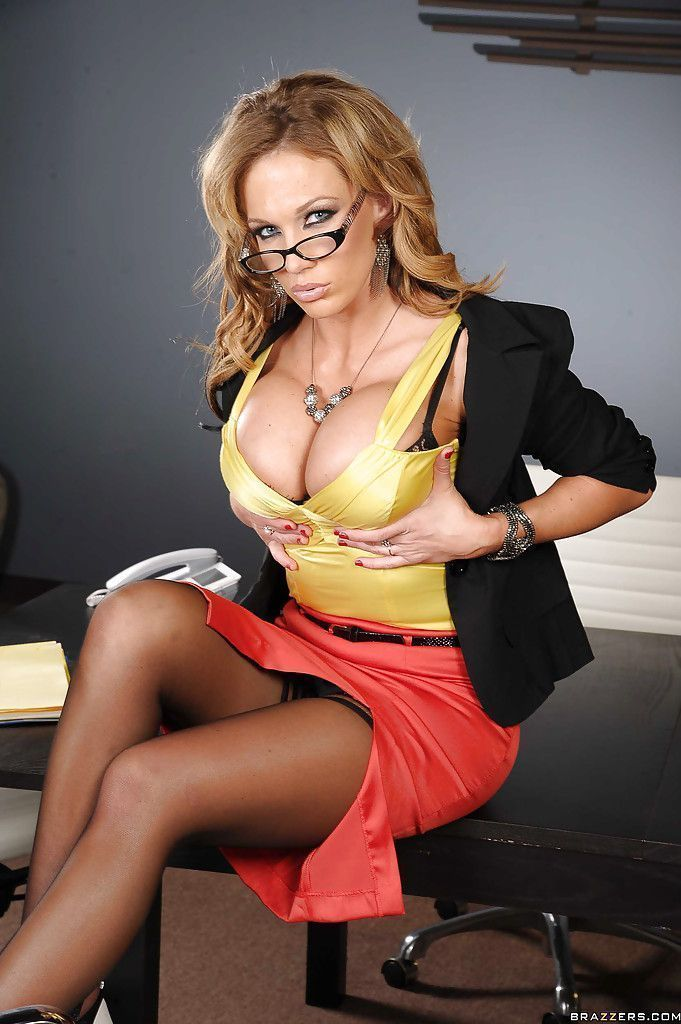 Busty secretary pictures