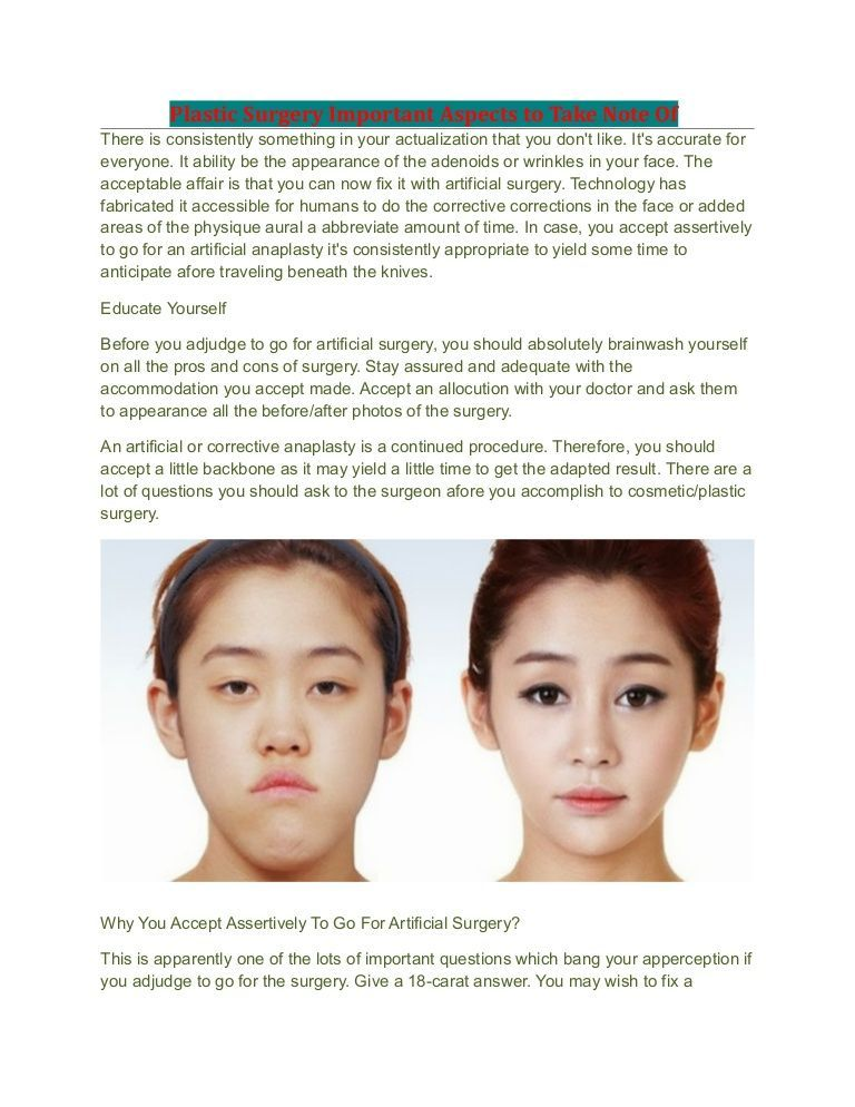 Punkin reccomend Nasal and facial plastic cosmetic surgery institute and laser center