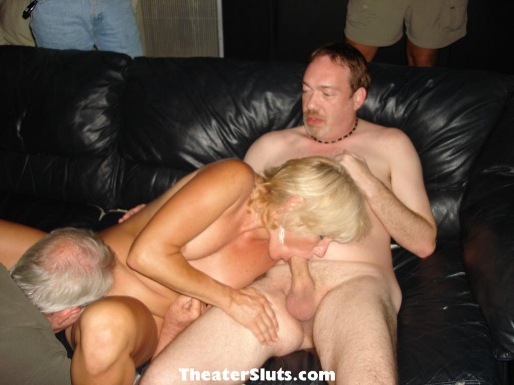 Wanking off my monster cock