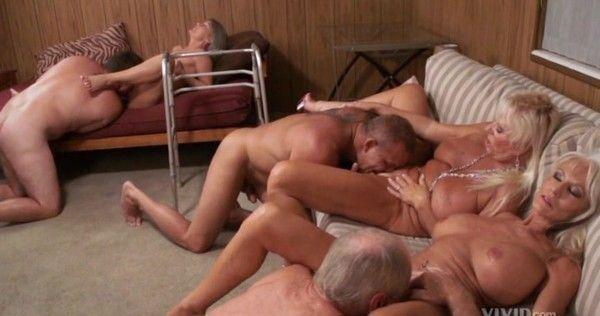 best of Orgy porn Seniors free