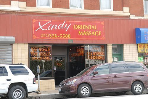 Barbera reccomend Chicago erotic massage parlor