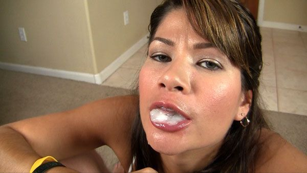 Swallow chica blowjob right! like your