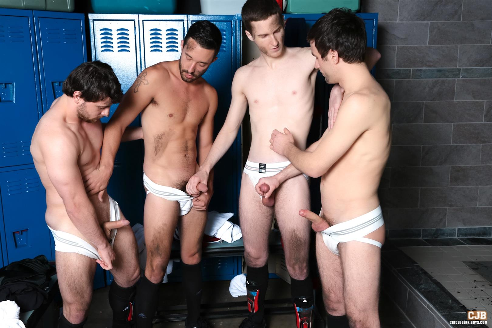 Circle jerk competition sex pictures