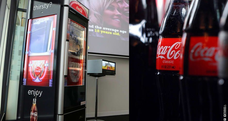 Coca cola facial recognition