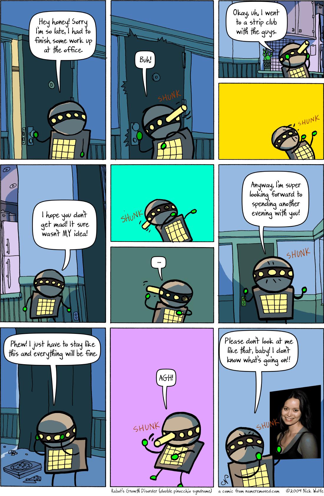 best of Cube office strip Comic