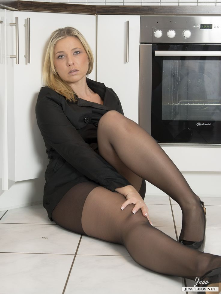 Curvy girls in pantyhose