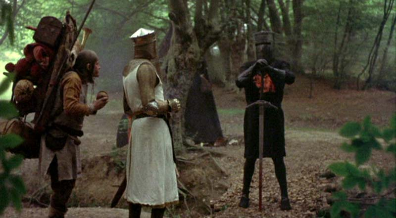 Bloomer reccomend Monty python holy grail virgins between