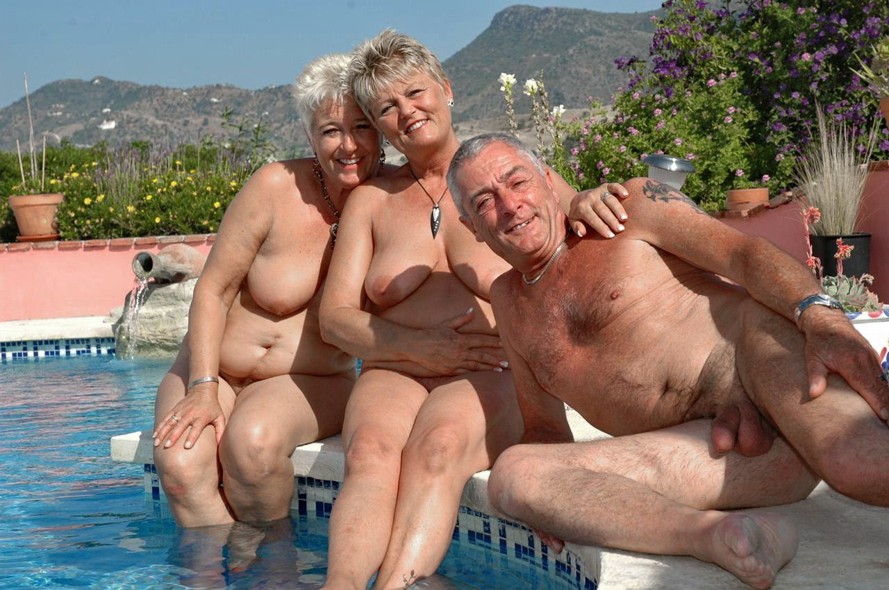 Old couples sex party