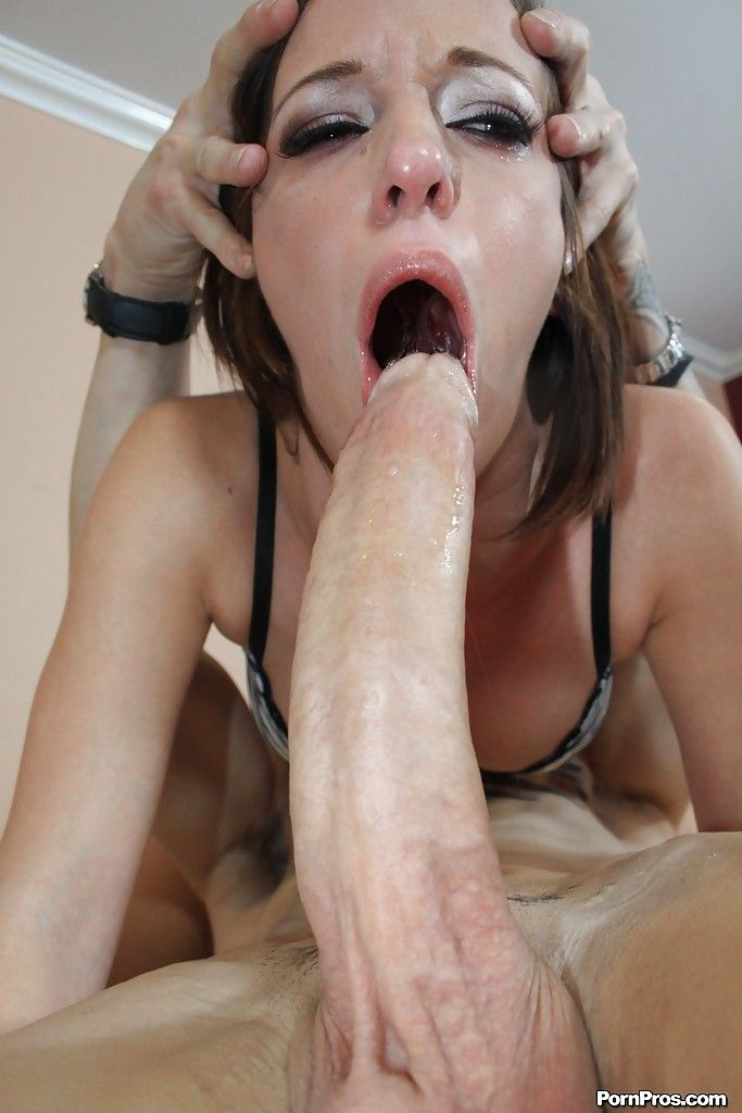 Biggest cock deepthroat