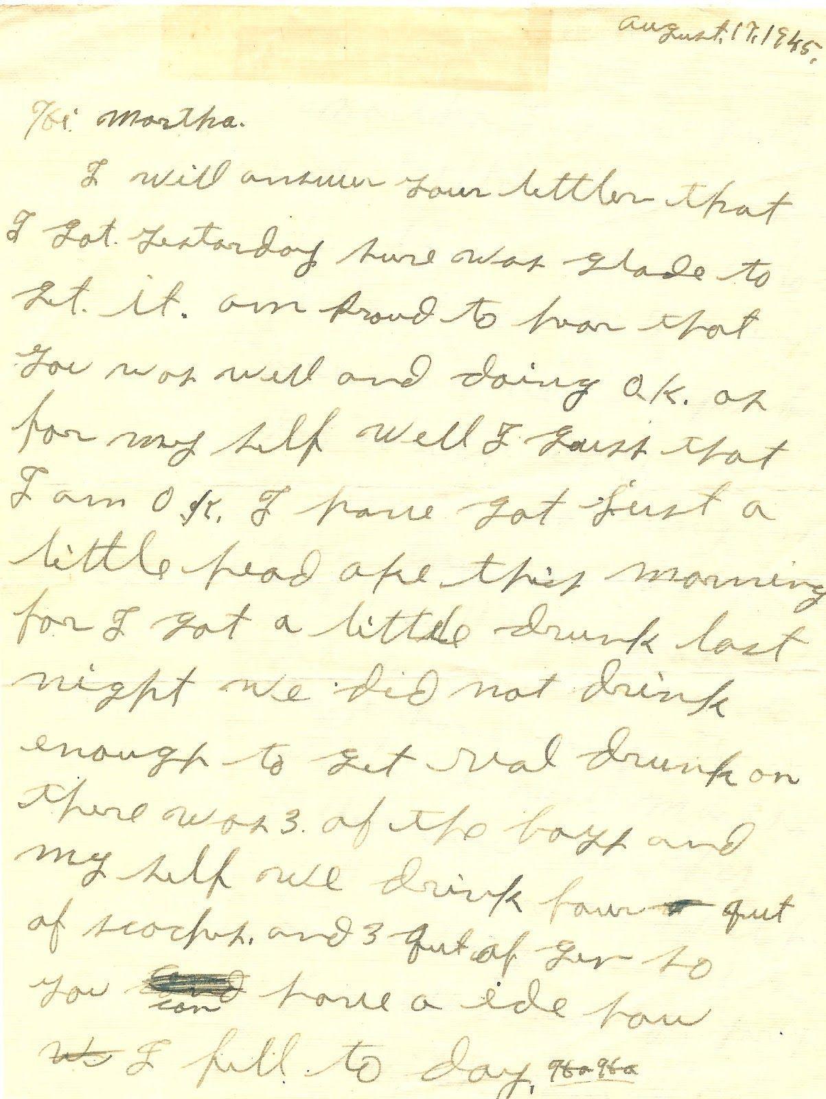 Dick holiman letter
