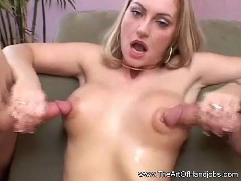 best of Handjob pics Double