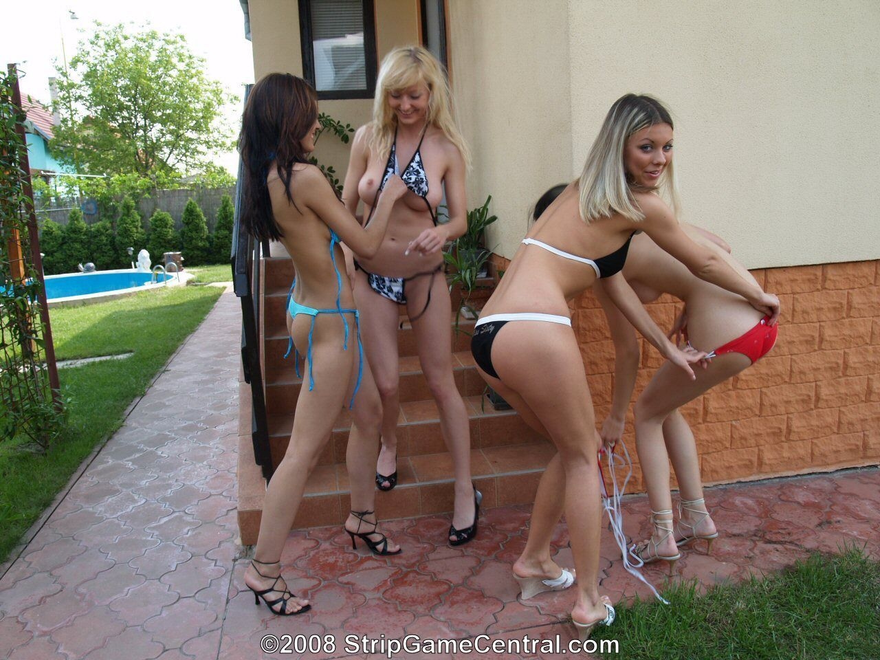 Four Girls Naked girl strip fighting . adult images. comments: 4