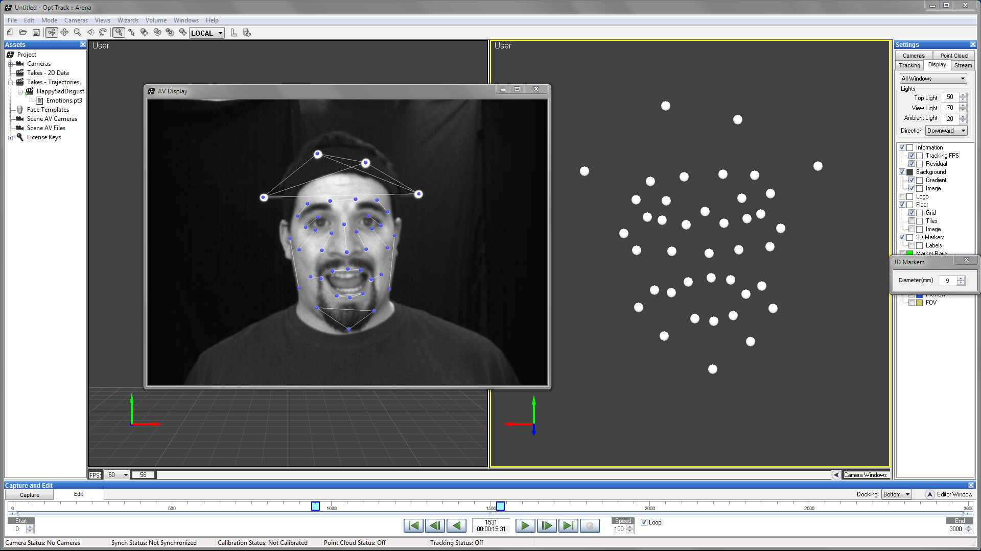 best of Data capture Facial motion
