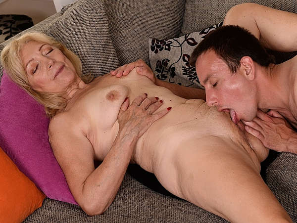from Vincent boy eating grandmas pussy