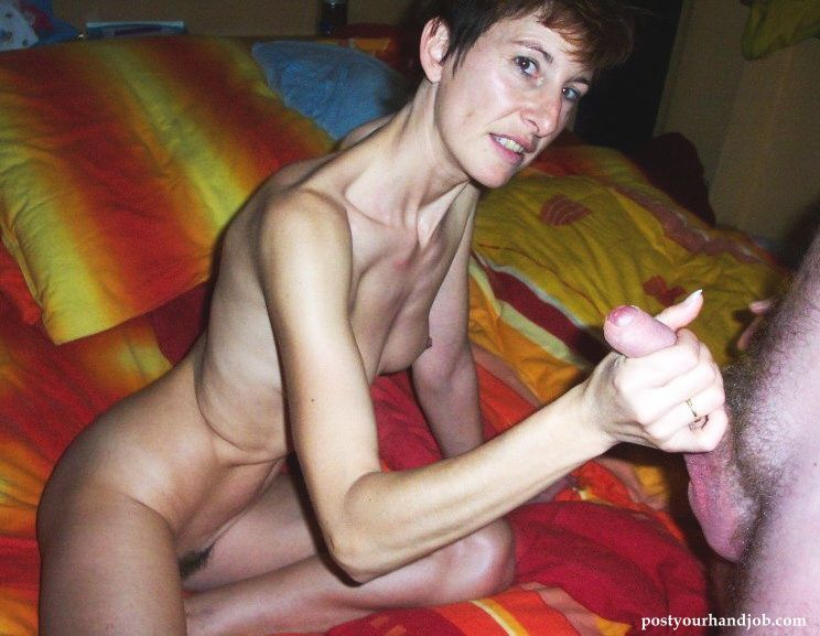 best of Handjob Granny wife