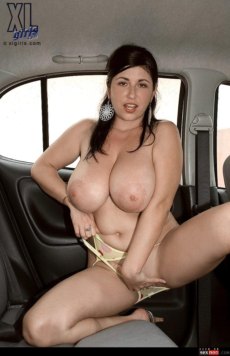 Latina milf car sex