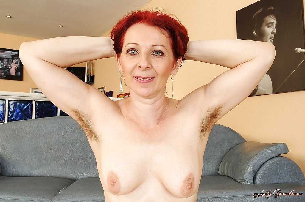 Hairy armpit mature naked wife