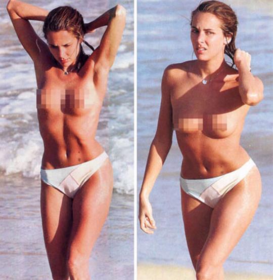 Prairie reccomend Melissa theuriau bikini