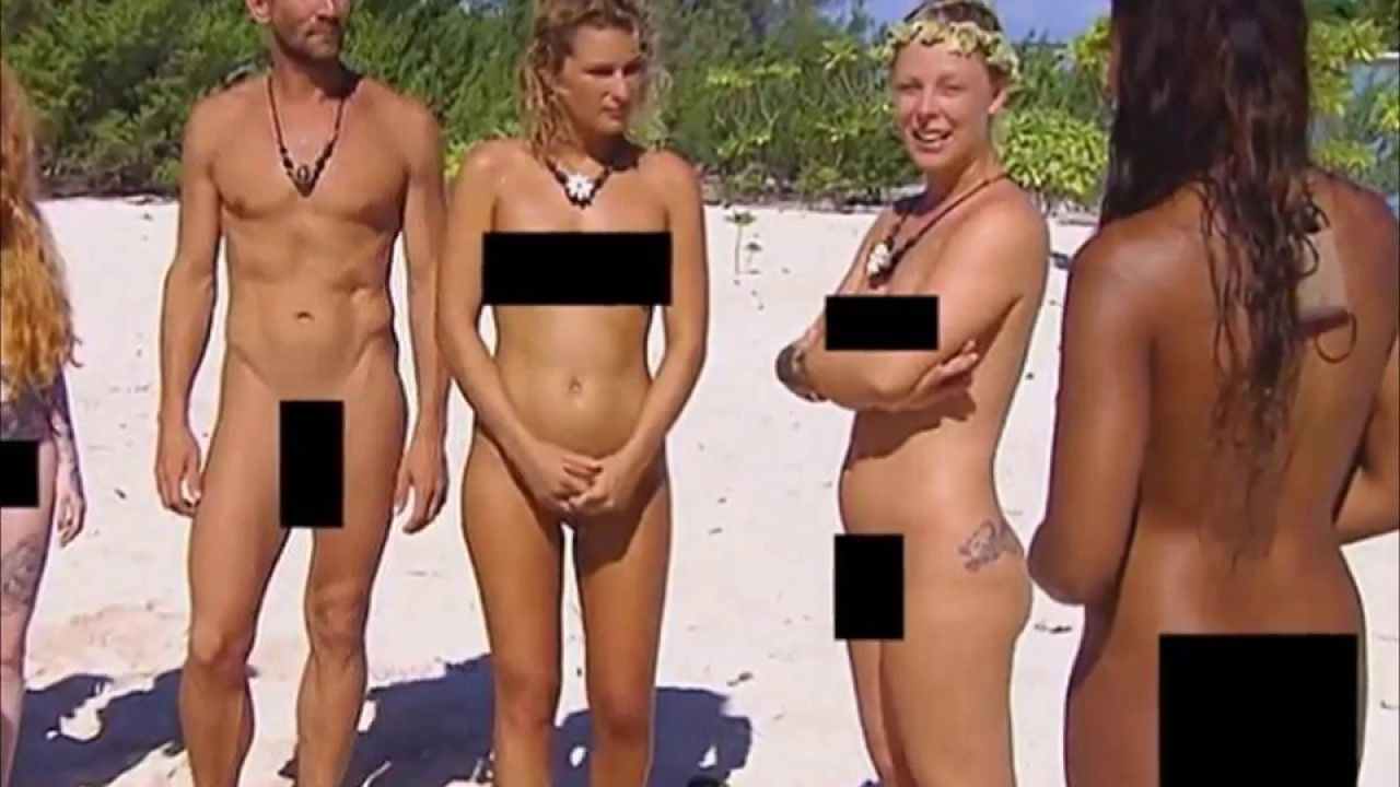 Naked for reality shows