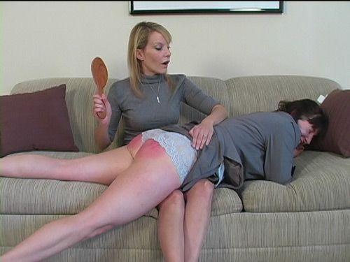 Nanny spank girl