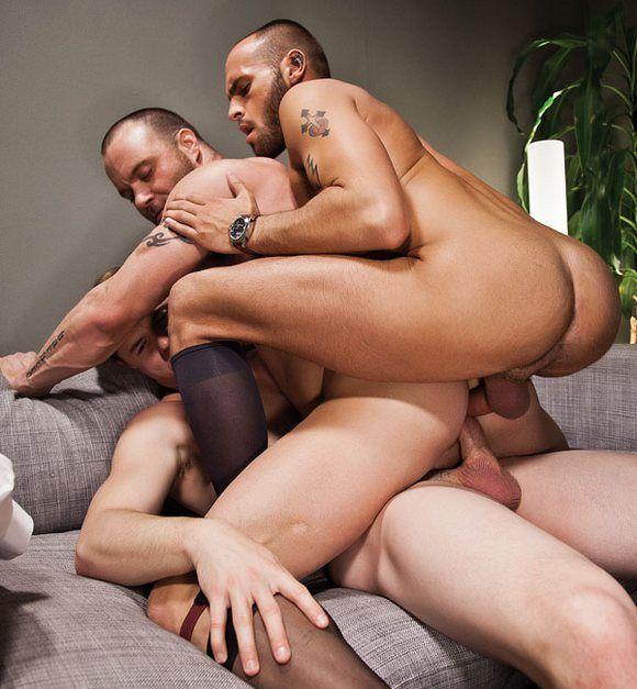 Man double penetration