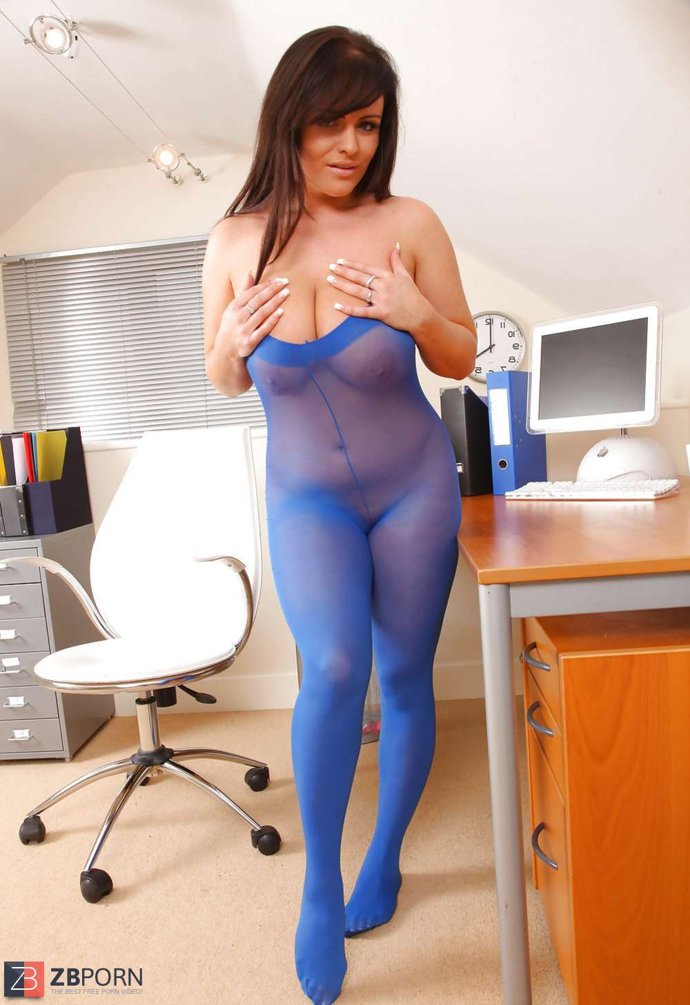 Blue Pantyhose Video