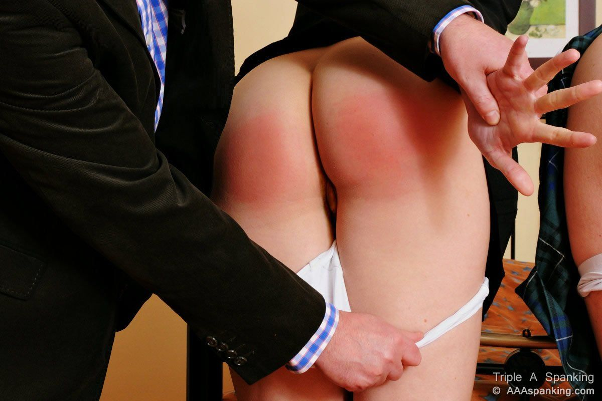 Pants Pulled Down And Spanked