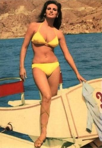 Blue E. reccomend Rachel welch bikini