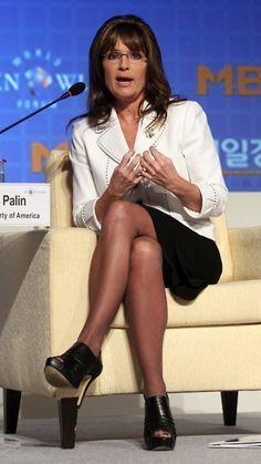 best of Wearing Sarah pantyhose palin