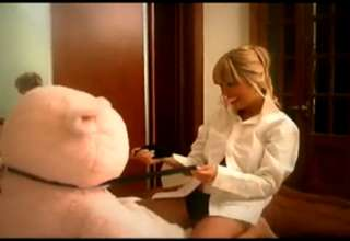Hot Girl Teddy Bear Cock