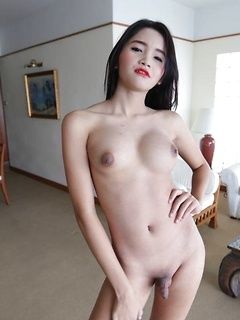 Small dick asian ladyboys