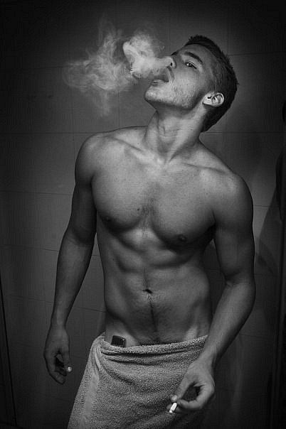 best of James In Buff Babe Julia Smoking