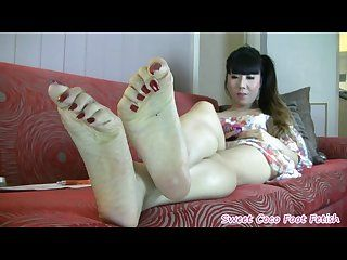 Crazy japanese feet