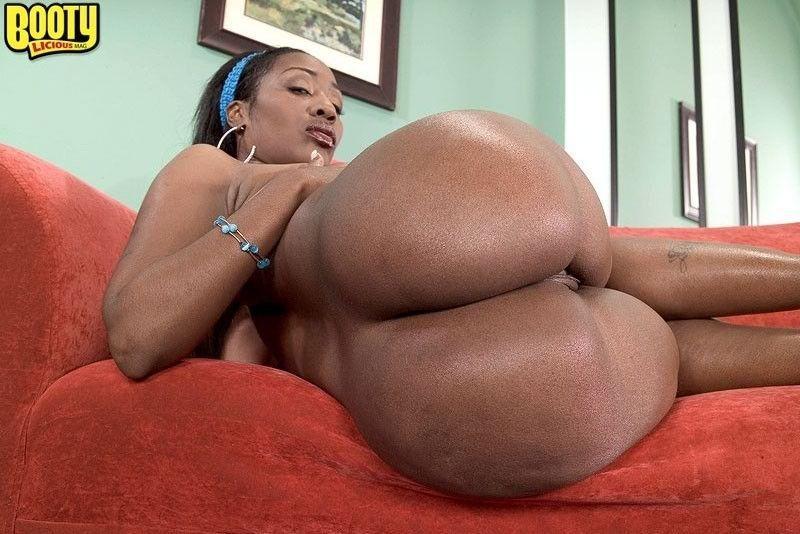 Big juicy black booty