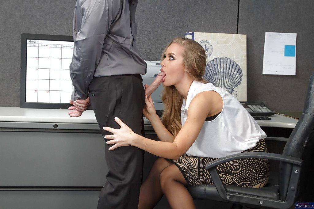 Blowjob Büro