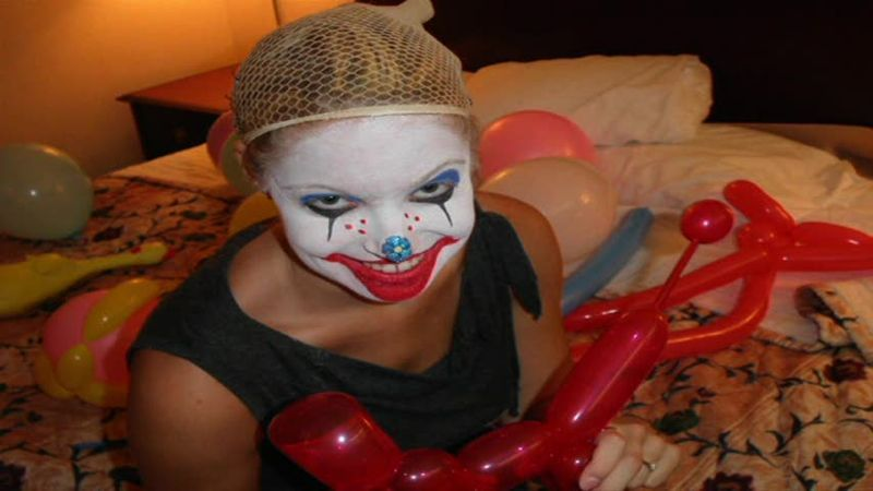 Female clown porn