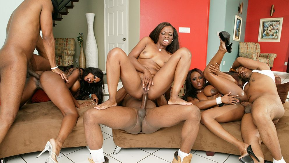 Orgy black Anal recommend you visit
