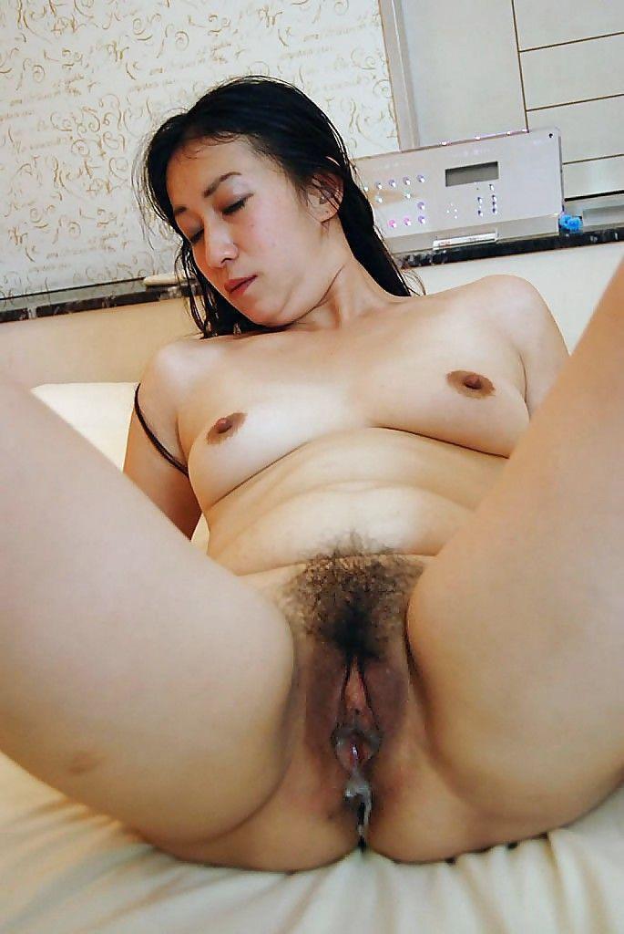Pussy hairy asian Tight Asian